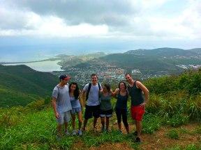 The Crew at Pic Paradis